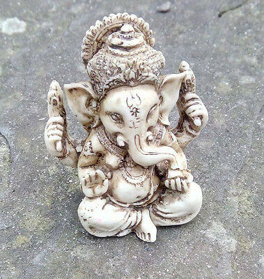 Ganesh small statue Hindu elephant God Good luck UK seller free postage altar