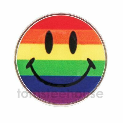 2 x MAGNETIC  HAT CLIP + 2 x Smiley Face Blue GOLF BALL MARKERS