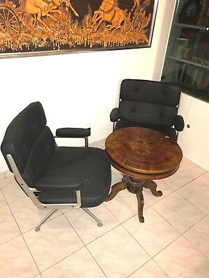GORGEOUS COUPLE OF LOBBY CHAIR ES 108 Charles & Ray Eames  1960 ORIGINALS