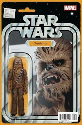 Star Wars #4 Chewbacca Action Figure Variant
