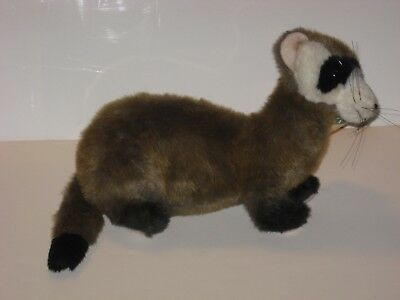 Plush Black Footed Ferret from Smithsonian