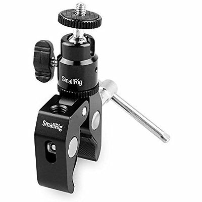 Clamp Mount With Ball Head Hot Shoe Adapter And Cool - 1124