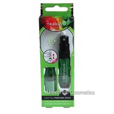 Travalo Ice Perfume Atomizer Refill Fragrance Bottle Spray Travel