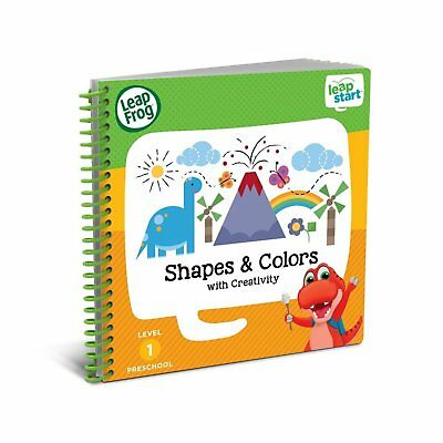 LeapFrog LeapStart Nursery Activity Kids Book Shapes Colours Creative Expression