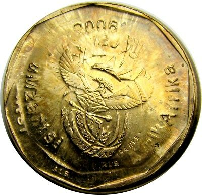 South Africa 20c Broadstruck and multi-struck - GEM - Very Tough Error country