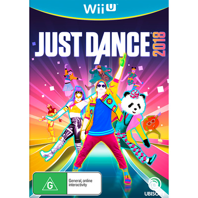 Just Dance 2018 Wii U Game Brand New In Stock From Brisbane