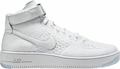 buy popular 0692b 07cb6 New Nike Af1 Ultra Flyknit Mid Shoes White Men Size 14 817420 100 Retail   175