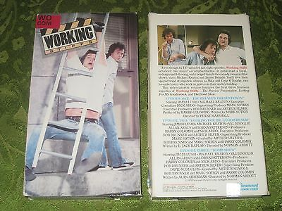 Working Stiff Vol 1 Vhs Video Michael Keaton James Belushi Rare Movie Not On Dvd