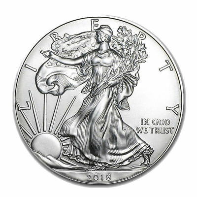 2018 American Eagle 1 oz .coin silver American Eagles 1oz