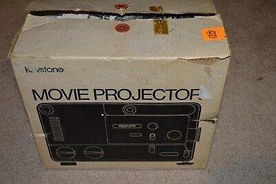 Keystone Zoom 2500 Dual 8mm Variable Speed Film Projector - MINT FREE SHIPPING**