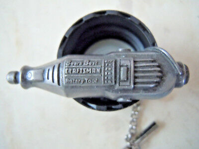 Sears Craftsman Rotary Tool Hat Lapel Tie Pin