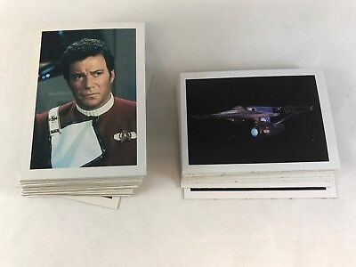 STAR TREK III: THE SEARCH FOR SPOCK FTCC Complete TEST BLANK BACK PROMO Card Set