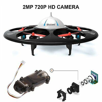 UDI RC U845 Voyager RC Quadcopter UFO Drone 6-Axis Gyro with 720P HD Camera RTF