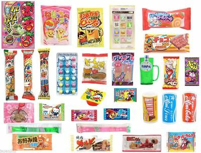 30 PIECE JAPANESE CANDY SET Gummy Ramune Sweets Jelly Chips Popin Christmas-3