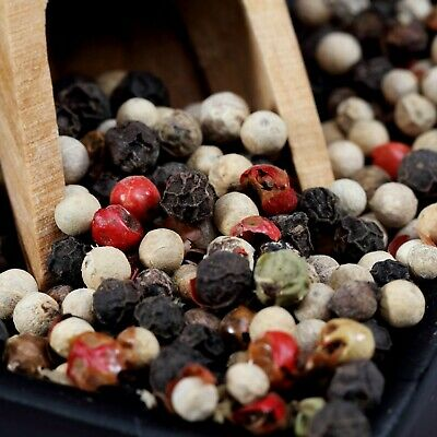 The Spice Lab Kings Peppercorn Medley 5 Pepper Mix Mixed Peppercorns Blend 5060