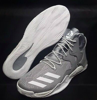 922c85607ee1 Adidas D Rose 7 NBA B38931 Boost Men s Basketball Shoes Gray white Size15