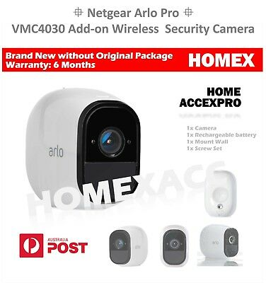 NETGEAR Arlo Pro  VMC4030 Wireless HD Home Security Add-on 1xCamera,1xBattery!