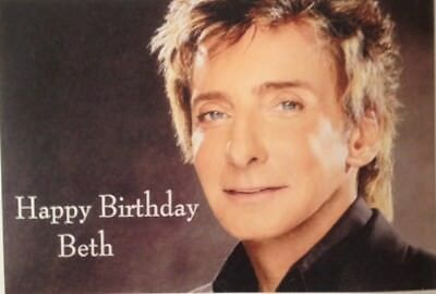 Homemade personalised birthday card barry manilow 295 homemade personalised birthday card barry manilow bookmarktalkfo Image collections