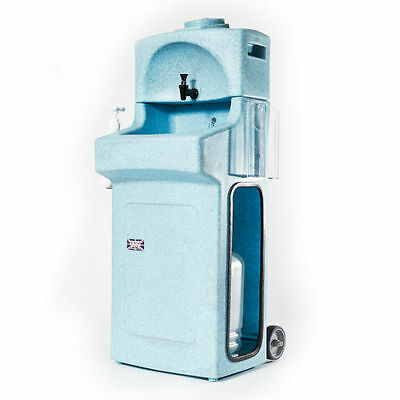 Portable & mobile hand wash sink unit - 10 litres (Blue)