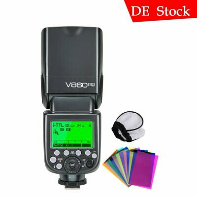 Godox V860II-C 2.4G TTL HSS Li-ion Battery Camera Flash Speedlite For Canon 5D