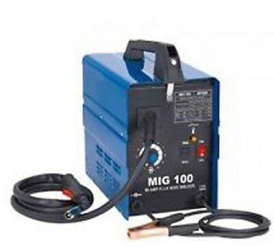 Chicago Electric Mig 100 Welding 120V 90AMP Flux Core Wire feed Welder
