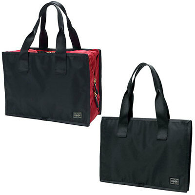 NEW YOSHIDA BAG PORTER   STAIN BOSTON BAG 585-08732 Black Japan F S ... 889e440e27eca