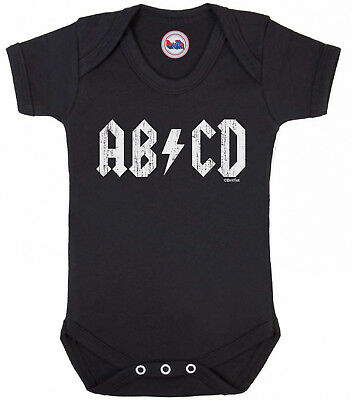 Funny ROCK music style BABYGROW for Boy or Girl Novelty Vest Baby Clothes