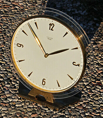 Rare Table Clock / Furniture Junghans Meister Watch 3 Days Period