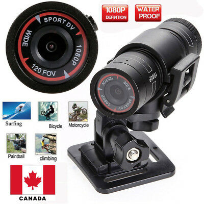F9 HD 1080P DV Mini Waterproof Sport Camera Helmet Bike Action DVR Cam CANADA