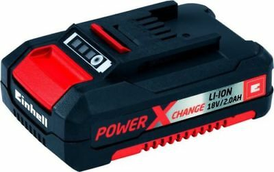 EINHELL Batteria Litio 18V 2Ah compatibile utensili Power-X-Change Carica 3 led