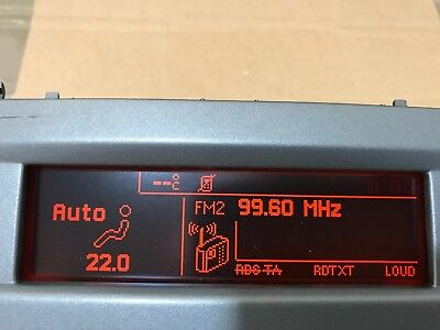 Peugeot 407 Car Info Display Lcd Cid 9657882780 Berlin