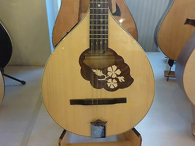 Irish Bouzouki with EQ and hard case made in Romania by Hora, solid wood