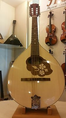 Mandola with EQ, made by Hora, Romania, solid wood