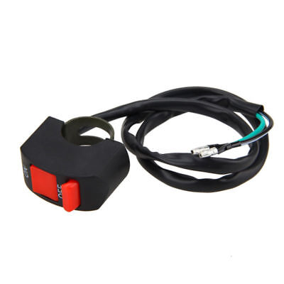 7/8''Motorcycle Handlebar Scooter ATV Dirt Bike Kill Stop ON-OFF Button Switch N