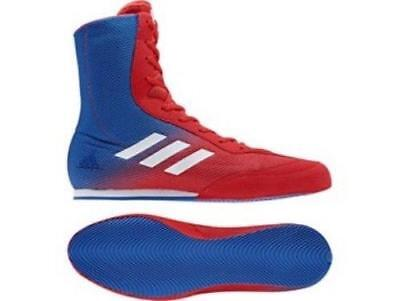 Adidas Boxing Box Hog Plus Boots Shoes - Blue/Red  DA9896