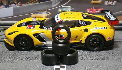 1/32 PAULGAGE SLOT CAR TIRES 2pr PGT-20125LMXD fit NEW CARRERA Corvette C7R