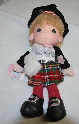 Precious Moments Doll 1985 World's Children Applause Eric-Scotland 16003 NWT NEW