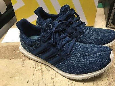 check out 60ba1 c11af USED Adidas Men's UltraBOOST PARLEY M OCEAN BLUE BB4762 RUNNING SHOES SZ  12.5