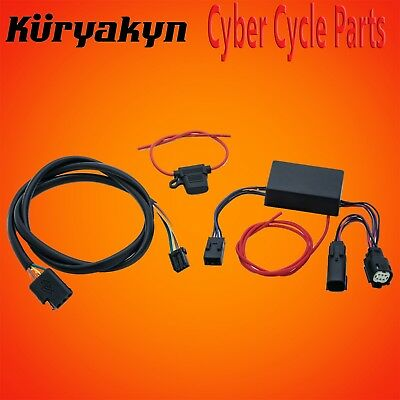 Kuryakyn Plug And Play Trailer Wiring For 14-18 FLH/FLT With 5-Wire Trailer 2595