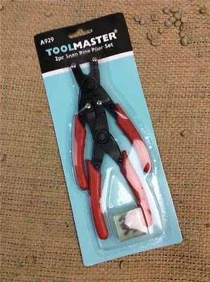 Clearance Lot 73 Toolmaster A929 Internal External Straight Bent Circlip Pliers