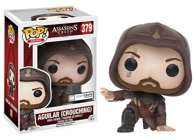 Funko POP! Movies No.379 - Assassin's Creed: Aguilar (crouching) - OVP