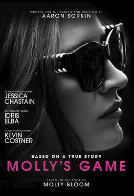 Molly's Game 191329010129 (DVD Used Like New)