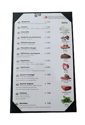 """10 Pcs of Restaurant Menu Covers Holders 8.5"""" X 14"""" Inches,Single View,Sold B..."""