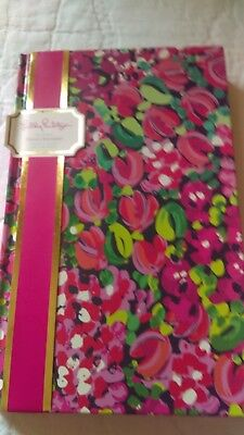 Lilly Pulitzer hard cover journal in Wild Confetti NWT