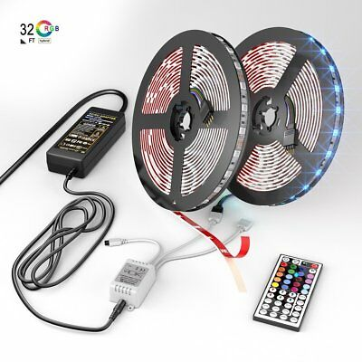 Led Strip Lights Kit With 44 Key Remote Controller