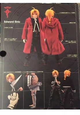 New Medicom Fullmetal Alchemist: Edward Real Action Heroes Figure F/S version1