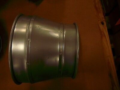 """Duct  Pipe Reducer 10"""" to 8"""" NordFab"""
