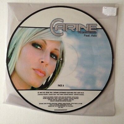 Disque Maxi 45T Picture Disc Carine Haddadou Feat Asto