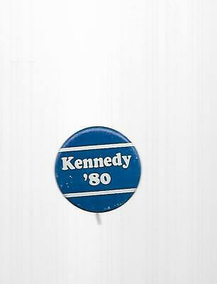 1980 Ted Kennedy Political Button (Kennedy '80 Blue With White Stripes)