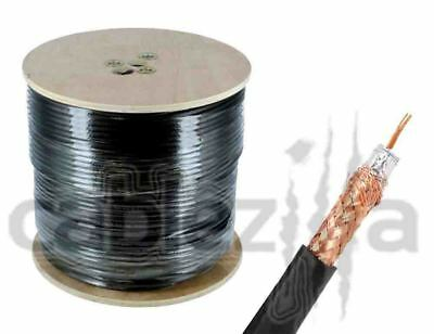 RG6 Outdoor Direct burial Coaxial cable with Messenger 1000 ft